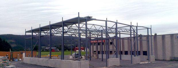 Ny verkstedhall for Sveen Mekaniske